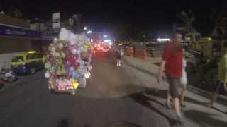 Pattaya Beach Road At Night December 5 2013