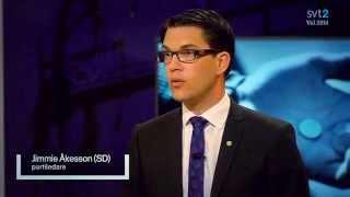 Partiledardebatt del 1 - Agenda 04.05.2014