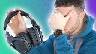 Logitech, Please STOP! G935 Wireless Headset Review