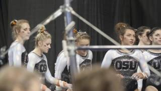 Oregon State gymnastics highlights from 2017 NCAA Championships Semifinals