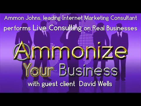 Ammonize: Internet Marketing deep-dive follow-up for David Wells