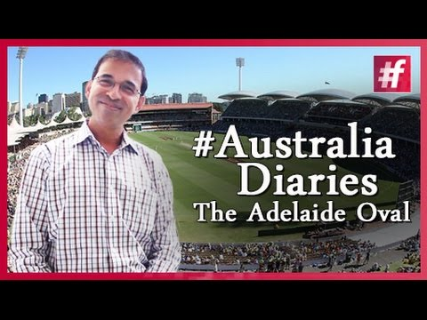 Harsha Bhogle - The Adelaide Oval