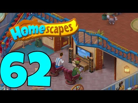 HOMESCAPES - Gameplay Walkthrough Part 62 - Robbie's Guest Room Day 4