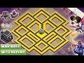 NEW TOWN HALL 9 (TH9) WAR BASE 2018 with REPLAY! TH9 WAR BASE ANTI LAVALOON!! - CLASH OF CLANS (COC)