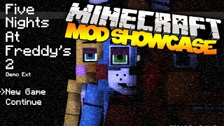 Minecraft: FIVE NIGHTS AT FREDDY'S 2! (Golden Freddy, Bosses, Presents,&MORE!)   Mod Showcase