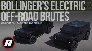 Bollinger B1 SUV and B2 pickup are 614-horsepower electric beasts by Roadshow