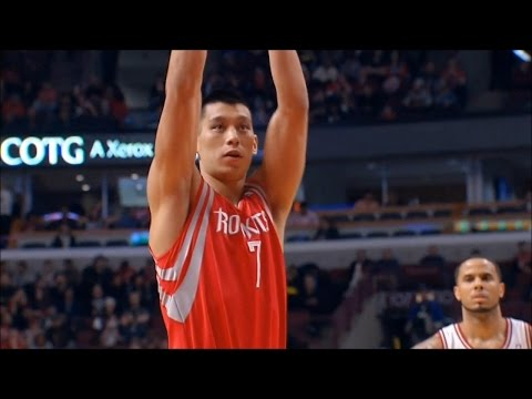 Jeremy Lin Highlights: 21 Pts vs Bulls 3/13/2014
