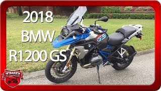 7. 2018 BMW R1200 GS Motorcycle Review