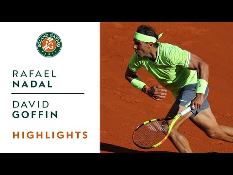 Rafael Nadal vs David Goffin - Round 3 Highlights | Roland-Garros 2019 - Thời lượng: 2:54.