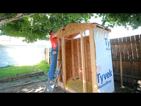 DIY Lawn & Garden Storage Shed: Part 1