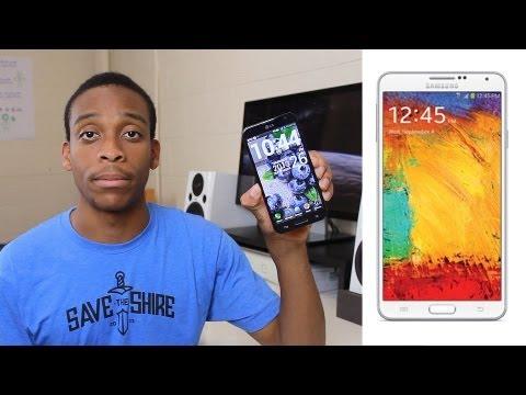 Samsung Galaxy Note III vs LG Optimus G Pro!