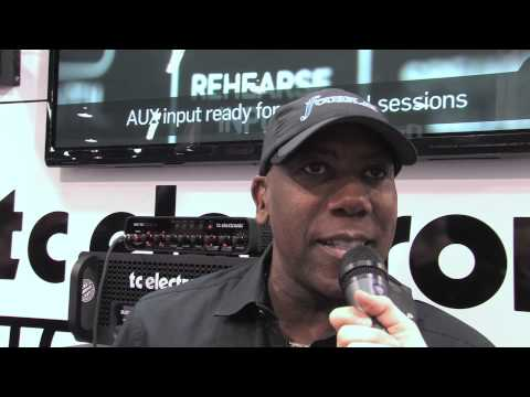 Bass Legend and one of the nicest people in the industry, Nathan East, drops by our booth for an interview. Nathan speaks a bit about his gear, his new album and adds that he never leaves home without his Blacksmith amp.