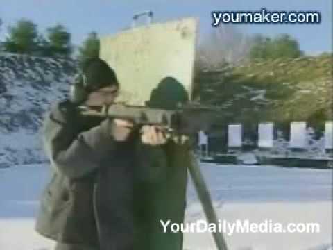 以色列研發的轉角射擊槍,真的會轉彎!
