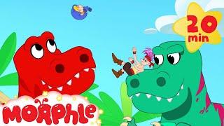 Video Morphle Dinosaurs for kids! Super hero Morphle MP3, 3GP, MP4, WEBM, AVI, FLV Mei 2017