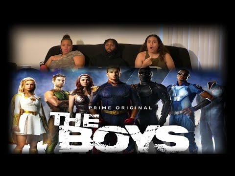 The Boys Season 1 Episode. 1: The Name Of The Game - Reaction *FIRST TIME WATCHING*