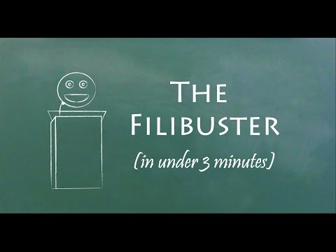 Understand the Filibuster in 3 Minutes