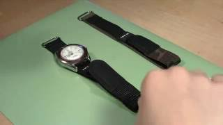 How to Change a Sport Velcro and Nylon Watch Band