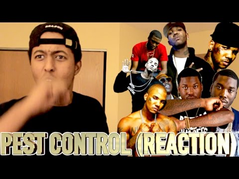 THE GAME - PEST CONTROL (MEEK MILL DISS) (REACTION)