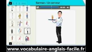 Vocabulaire Anglais Les Métiers, Les Professions (Vocabulaire Anglais Facile)
