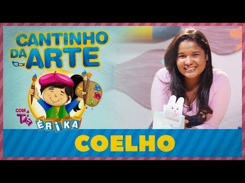 Coelho | Cantinho da Arte com a Tia Érika