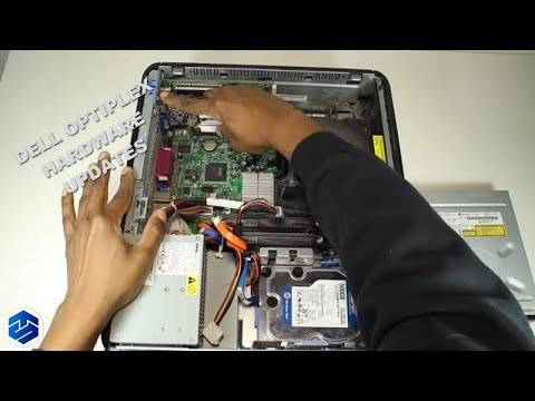 Dell Optiplex Upgrades, New Hard Drive, Memory And Video Card