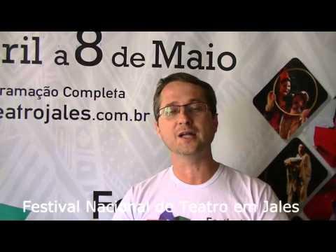 Jales - Conheça todos os detalhes do 8º Festival de Teatro em Jales.