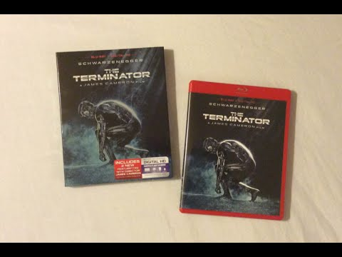 The Terminator (1984) Blu Ray Review and Unboxing