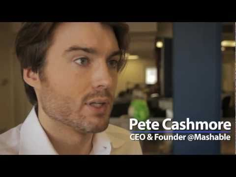 mashable - Pete Cashmore, Adam Ostrow and Christina Warren talk about what Mashable is in 2011.