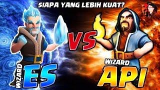 Video ICE vs FIRE WIZARD SIAPA YANG LEBIH KUAT? - Coc Indonesia MP3, 3GP, MP4, WEBM, AVI, FLV November 2017