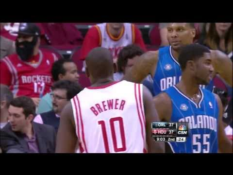 Ronnie Brewer - Steal & Fast Break And1 Lefty Lay Up vs Magic