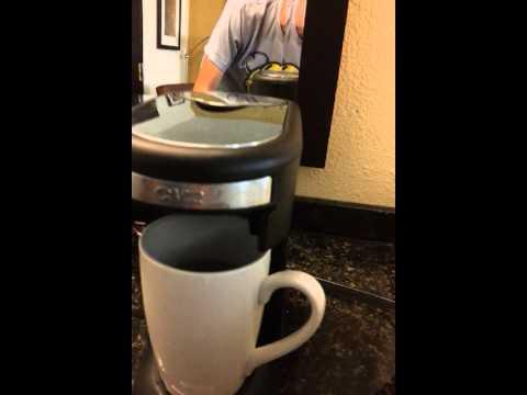 Pooping coffee maker