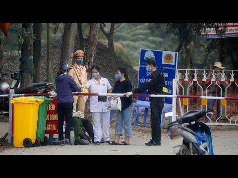 Vietnamesische Kommune steht wegen Coronavirus unter Q ...
