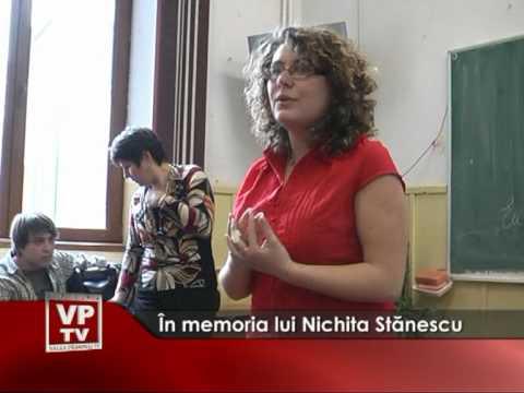In memoria lui Nichita Stănescu