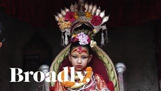 Video Life of a Kumari Goddess: The Young Girls Whose Feet Never Touch Ground MP3, 3GP, MP4, WEBM, AVI, FLV Juli 2018