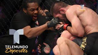 Video Polémica y bronca en derrota y regreso de McGregor al octágono | MMA | Telemundo Deportes MP3, 3GP, MP4, WEBM, AVI, FLV Juni 2019