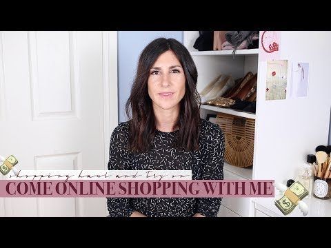 Come Online Shopping with Me - Haul Try On | Mademoiselle #AD видео