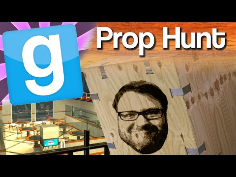 Simon - Gmod Prop Hunt multiplayer continues with the Yogscast crew as Simon discovers he has a talent for this hiding lark. Simon, Lewis, Hannah, Sjin and the Hat Films guys have some funny moments...