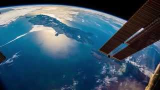 ISS Timelapse   From New Zealand to sunset 24 Gennaio 2015!!!!