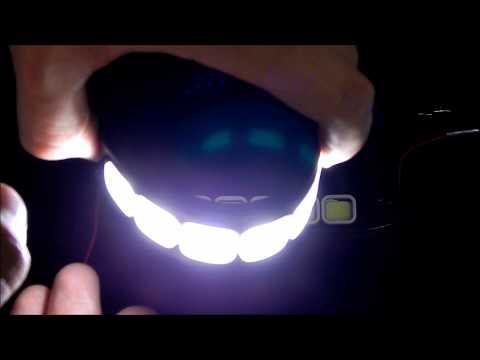 Дневные ходовые огни LED DRL COB ГИБКИЕ 6 квадратов 9 16V