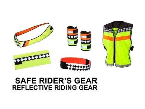Safe Rider's Gear Reflective Riding Gear
