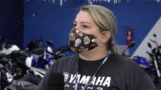 Pandemia faz vendas  de motos dispararem