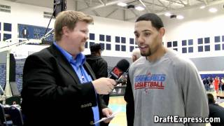 DraftExpress Exclusive - Scottie Reynolds Interview at the 2011 D-League Showcase