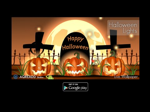 Video of Halloween Live Wallpaper HD