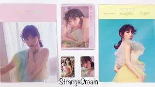 Unboxing Taeyeon Postcard Book/ Folder My Voice Deluxe Edition SM Goods