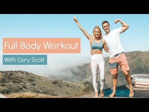 Full Body Workout with Cory Scott - 10 MINUTE TOTAL TONE | Rebecca Louise