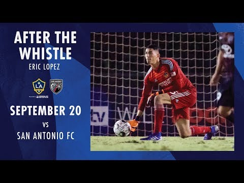Video: After the Whistle: Eric Lopez vs. San Antonio FC | Sept. 20, 2019