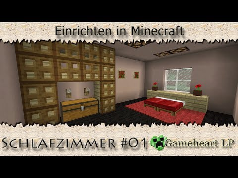 Minecraft schlafzimmer 01 einrichten in minecraft - Minecraft schlafzimmer ...