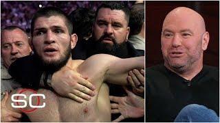 Dana White reacts to Khabib, Conor suspensions for UFC 229 brawl | SportsCenter