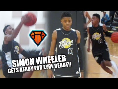 5'8 Simon Wheeler GETS READY FOR EYBL DEBUT!! | 2021 Point Guard GETS BUSY