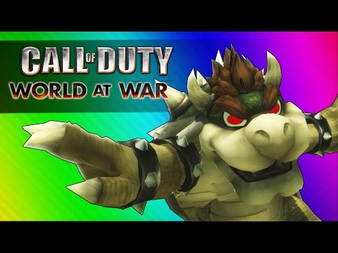 Super Zombie Bros! (Call of Duty WaW Zombies Custom Maps, Mods, & Funny Moments)